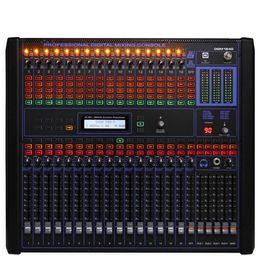 Mezclador de audio digital de 16 canales de calidad superior Mezcladores de montaje en rack de 19