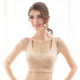 Wholesale bra free days online – OranriTing Comfortable Sleep Bra Every Day Thin Seamless Sexy Lingerie Full Cup Wireless Healthy Intimates S XL Vest No bondage