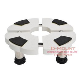 10-14cm height adjustable plastic Fridge mount stand round air-conditioner stand holder bracket washing machine mount