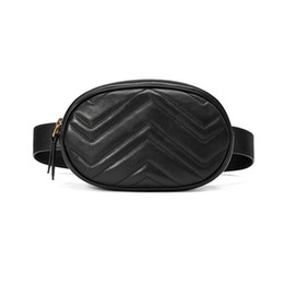 2018 Design multi-function new Chain Bags  PU Waist Packs Leather Women Waist Bags New Fashion Brand Women Shoulder