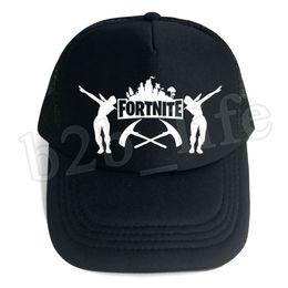 9ec564832a0 10pcs Fortnite Cap man baseball cap male snapback summer Breathable hats  bone man hip hop hat for women funny Quick drying caps MMA183