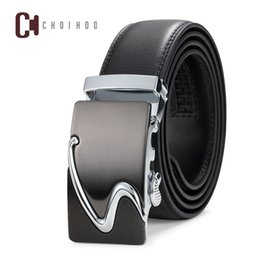 Discount top brand belts for men - 2018 sell hottest Famous Brand Belt Men Top Quality Genuine Luxury Leather Belts for Men,Strap Male Metal Automatic Buck