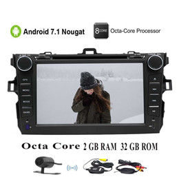 4g mp4 player touch screen online shopping - EinCar Octa Core Car Stereo GPS car DVD Player for Corolla Head Unit Double Din Radio Receiver Navigation Bluetooth G G WiFi camera