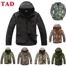 $enCountryForm.capitalKeyWord Australia - Military Tactical S TAD Sharkskin Jacket Or Pants Men Outdoor Hunting Clothes Hiking Climbing Waterproof Sport Suits Y1893006
