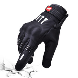 XXl motorbike gloves online shopping - Summer Motorcycle Gloves Touch Screen Full Finger Motocross Gloves Bicycle Cycling Motorbike Guantes Luvas Motocicleta