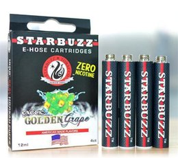 E Hose Cartridge Starbuzz Flavors Canada - 2015 hot selling starbuzz cartridges starbuzz ehose cartridges E Hose Cartridge Starbuzz 14 Flavors for starbuzzk 2015 hot sellingCartridges