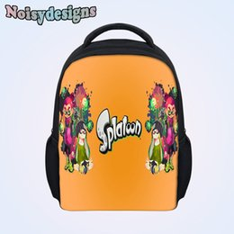 $enCountryForm.capitalKeyWord NZ - Hot Sale Splatoon Cartoon Printed Backpack for Kids Casual Bags Little Boys Girls Children Bookbags School Bag Backpack