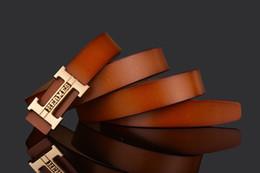 $enCountryForm.capitalKeyWord NZ - New Genuine leather Childrens Belts Brand Design Children's Waist Belts For Pants Trousers boy Girls Jeans Belt Metal Buckle 031