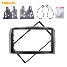 frame kits Canada - FEELDO Car 2DIN Fascia frame for ALFA ROMEO 147 Stereo CD Radio Trim Panel Mounting Installation Frame Adapter Mount Kits #5246