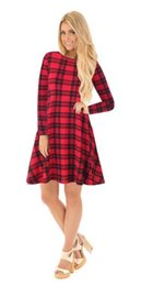 $enCountryForm.capitalKeyWord UK - 2018 autumn new style fashionable European and American Christmas hot sell cartoon revenue stamp ladies' dress