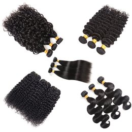 $enCountryForm.capitalKeyWord Australia - Brazilian Virgin Hair Body Wave Bundles 8A Peruvian Malaysian Indian Kinky Curly Human Hair Straight Water Wave Deep Wave Human Hair Bundles