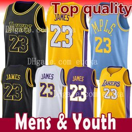 854693140 Balls online shopping - 2018 New Season Men Youth Kids LeBron James Jersey Los  Angeles Lakers