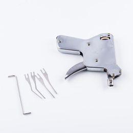 $enCountryForm.capitalKeyWord NZ - Portable Strong Eagle Flexible Gun Locksmith Tools Pick Set Door Lock Opener Convenient Lockpick Picking Tool Bump Key Padlock 202h ff