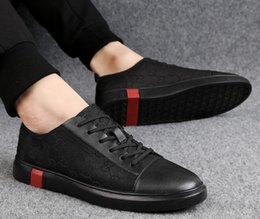 Korean leather fashion trend online shopping - Brand appearance summer new casual trend shoes Korean version low top fashion leather men s shoes casual shoes hiking shoes G1