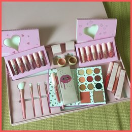 Бесплатная доставка by ePacket Pink Vacation Bundle Makeup Set Take Me On Vacation I Want It All Bundle Holiday Edition Big Box