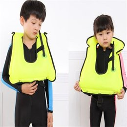 And Children Summer Children Inflatable Swimming Life Jacket Buoyancy Safety Jackets Boating Drifting Lifesaving Vest Life Waistcoat Suitable For Men Women