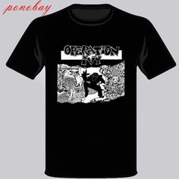 Nova Operação Ivy Op Ivy Ska Punk Banda Dos Homens T-Shirt Preta Tamanho S M L XL 2XL 3XL venda por atacado