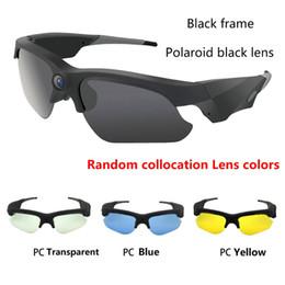 Video sunglasses online shopping - 2017 NEW Sunglasses Mini Camera Mini DV Camcorder DVR Video Camera HD P For Outdoor Action Sport Video Glasses