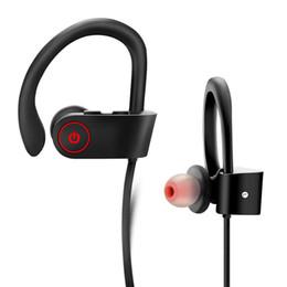 Наушники для наушников DXVROC Bluetooth Наушники с микрофоном для наушников Беспроводные спортивные наушники для S9 7 8 Plus IPX7 Потоотделочные наушники с тяжелой басовой сетью