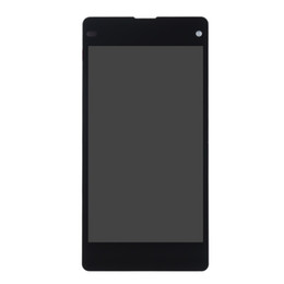 ingrosso xperia mini lcd-Per SONY Xperia Z1 Compact LCD Display Touch Screen Digitizer Assembly di ricambio M51w D5503 per SONY Z1 Mini LCD