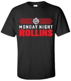 Chinese  MONDAY NIGHT ROLLINS T-shirt Wrestling Seth T Shirt Summer Style Fashion Men T Shirts Top Tee Different Colours High Quality manufacturers