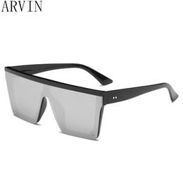 2e53d10e6f gafas de sol superiores de gran tamaño mujeres de lujo 2018 gafas de sol  para hombre únicas gafas de sol de diseñador de la marca grandes tonos  cuadrados