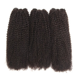 China Grade 10a India Kinky Curly Hair Weave Bundles Natural Color 130 density Human Hair Bundles 8-30 Inch Remy Human Hair Extension cheap hair india suppliers