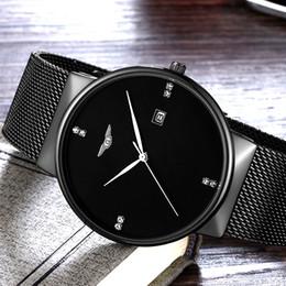 bce5d3592581 Relogio masculino GUANQIN Relojes para hombre de primeras marcas de lujo de  diseño simple de malla de banda reloj de cuarzo hombres de moda reloj de  pulsera ...
