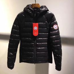 Standard Satin online shopping - Winter New Canada Women s and men Goose Down Chilliwack Bomber Hooded Warm Coa Couple modelst Fur Windbreaker parka