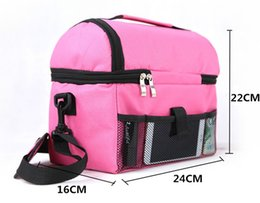 Picnic Ice Packs Australia - New Insulation Cooler Bag Multifunction Clutch Portable Picnic Thermal Food Ice Pack Shoulder Large Food Bag Functional Bags