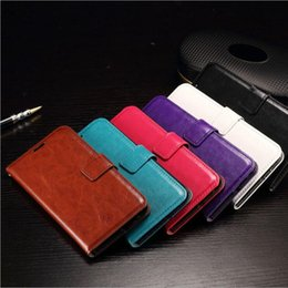 Iphone Credit Australia - For iphone XR XS Max 8 7 6 Plus Real Genuine Leather Wallet Credit Card Holder Stand Case Cover For S10 Plus