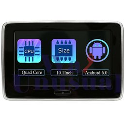 "Tft Speakers Australia - 10.1""HD Car Headrest Monitor DVD Video Player TFT LCD HD Digital Screen Support IR FM USB SD Speaker Game 1024*600 Quad Core MP4"