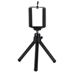 Timer Camera Iphone UK - Mini Tripod Stand Mount With Clip Holder For Digital Camera Self-Timer Smartphones For iphone Samsung Huawei