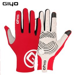 Bicycle Road Cycling Gloves Australia - GIYO winter cycling gloves long finger gel touch screen S M L XL XXL road bike bicycle gloves men women riding full fingers MTB C18110801