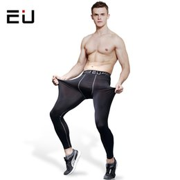 $enCountryForm.capitalKeyWord Canada - EU Men's Running Pants Men Quick Dry Breathable Training Compression Tights High Quality Men Running Fitness Gym Sport Leggings