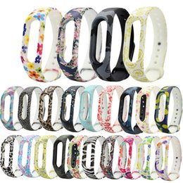 Wholesale 2018 Silicone Strap For Xiaomi Mi Band Bracelet Miband Colorful Strap Wristband Replacement Band Accessories For Mi Band Free DHL