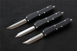 Discount knives ship free - Free shipping,MIKER Ultratech UTX-85 Knife Blade:D2,Handle:6061-T6Aluminum(CNC) T E,D E.Outdoor camping survival knives