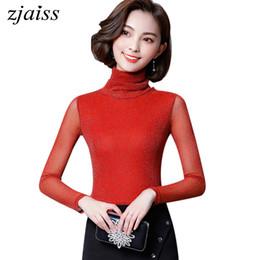 53c2f4c2c4 2018 Mulheres Blusas de Outono E Inverno Blusa Elegante Casual Manga Longa  Desgaste do Trabalho Blusas Tops Camisas Preto Laranja Vermelho Azul