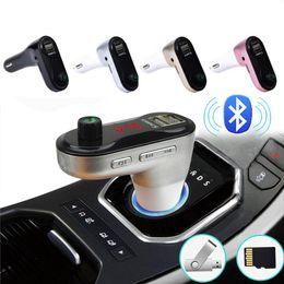 Bluetooth Araç Kiti FM Verici MP3 Çalar Modülatör USB Araç Şarj Desteği TF Kart U Disk DC12V USB FM Verici indirimde