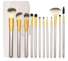 $enCountryForm.capitalKeyWord NZ - High Quality Makeup Brushes set Beauty makeup tools Champagne Cosmetics brush 3 Styles Multi-function makeup brushes BR005