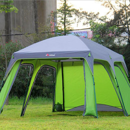 2018 two room tents Outdoor C&ing Tent 5-8 Persons Large C& Sun Tents C&ing : two room tents - memphite.com