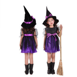 d4caa6c369c New Arrival Baby Kid Halloween Performance Costume Cap Wizard Witch Hat  Party Cosplay Props Cute Hats Adults and Kids Clacks Clothes