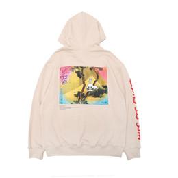 $enCountryForm.capitalKeyWord Canada - Kanye West KIDS SEE GHOSTS Hoodie Men Women Pullover Sweatshirts Hip Hip Hoodies