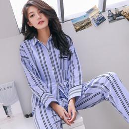 7e73e1de3e Discount women winter pajamas set - 100% cotton women Autumn Winter Pajamas  Soft Comfortable Printing