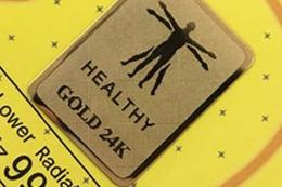 Adesivo anti-radiação 24k-ouro em Promoção