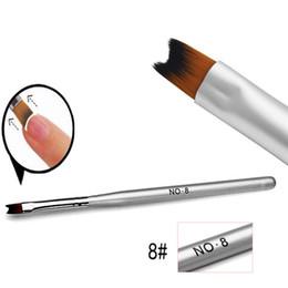 $enCountryForm.capitalKeyWord UK - Wholesale- 1Pcs Nail Brush Pen Acrylic UV Gel Nails Art Painting Drawing French Manicure Tools Wholesale Free Shipping
