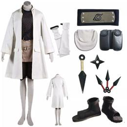 Discount make naruto cosplay - Naruto Mitarashi Anko Full Suit Cosplay Costume
