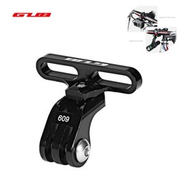 bicycle alloy stem 2019 - GUB Bicycle Handlebar Stem Mount Rack for Sports Camera Install Aluminum Alloy Bike Holder Adapter Tachograph GoPro Came