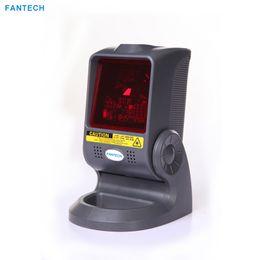 high speed scanners 2019 - FANTECH Laser Barcode QR Code Scanner for Supermaket Cashier 1400lines sec High Speed Scanning Platform 32bit Free Shipp