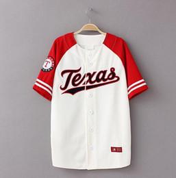 Wholesale mens t shirt loose for sale – custom Summer Hip Hop Fashion Baseball T shirt Loose Unisex Mens Womens Kids Tee Tops Tide Mujeres Camiseta S XL